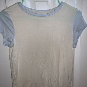 American Eagle Outfitters Tops - American Eagle Blue Trim Tee Shirt